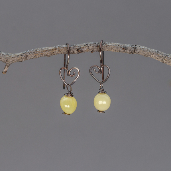 Small Dangle Earrings are 1.25 Inches Long