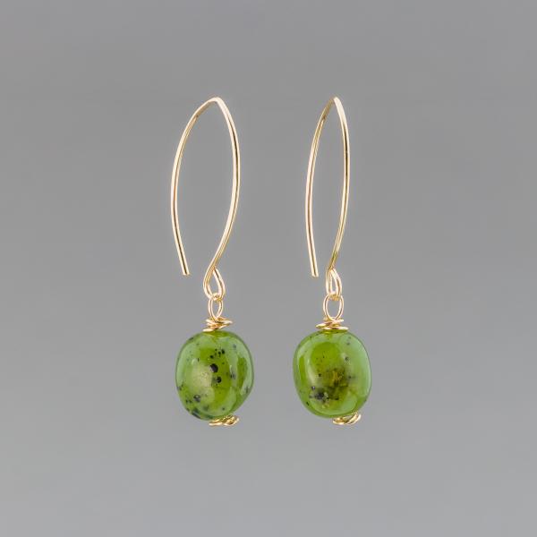 Casually Elegant Jade Earrings