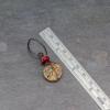 2-inch Long Dangle Earrings with Chohua Jasper
