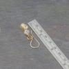 Handmade Beaded Earrings are 1.5 Inches Long
