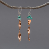 Copper Wind Chime Earrings