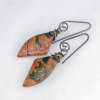 Sterling Silver Cherry Creek Jasper Earrings