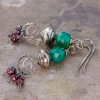 Christmas Gemstone Earrings