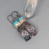 Southwest Inspired Textured Copper Earrings