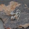 Labradorite Bead Simple Drop Earrings