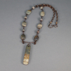Copper Necklace with Jasper Stones