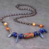 African Krobo Bead Necklace