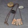 Quartz Stone Bib Necklace